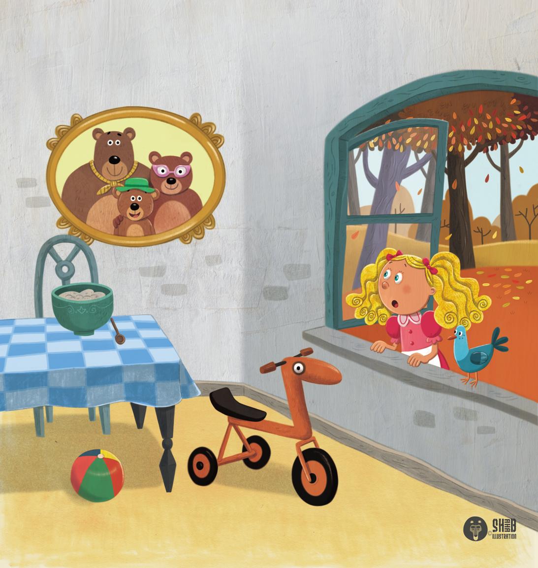 goldilocks and the three bears ebook