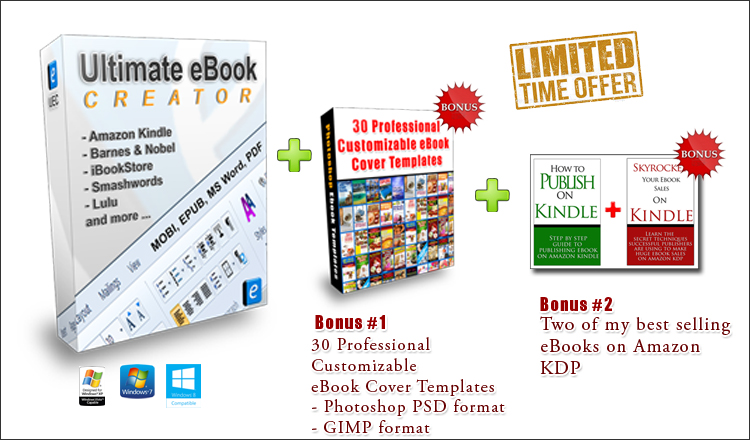 free ebook creator for kindle