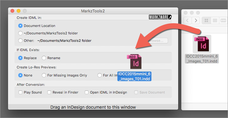 converting indesign to epub file