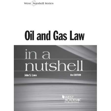 oil and gas law in a nutshell ebook