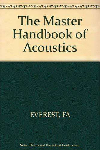 master handbook of acoustics ebook