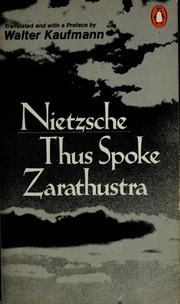 thus spoke zarathustra kaufmann epub