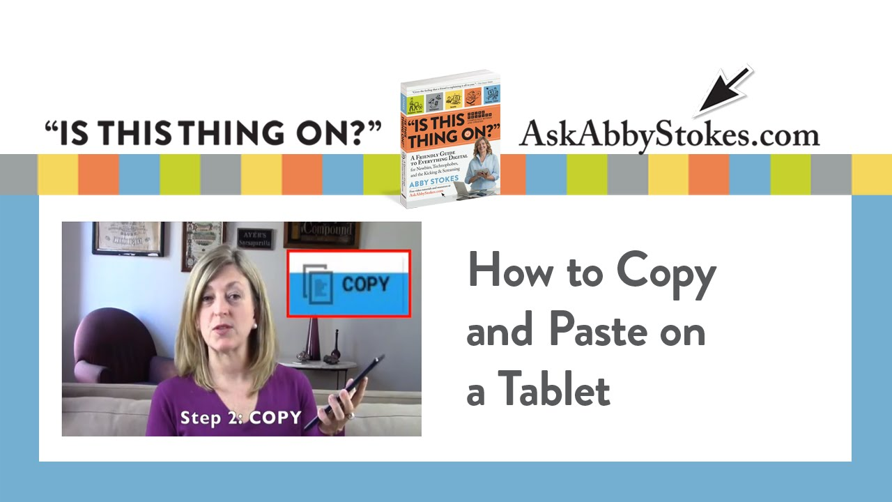 how to copy and paste from ebook