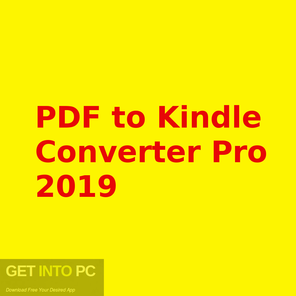 convert pdf to ebook kindle free