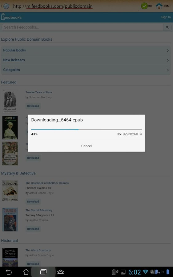 best free epub reader android