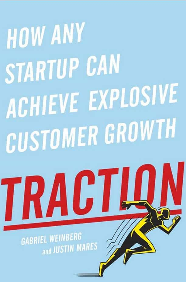 traction ebook for startup marketing