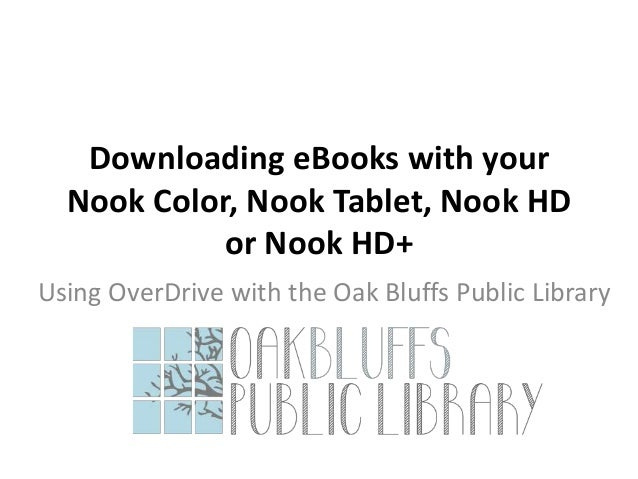 free ebooks for nook color