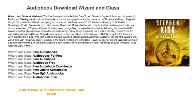 dark tower wizard and glass epub download