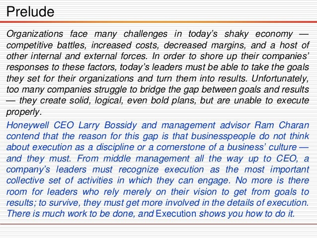 execution the discipline of getting things done epub