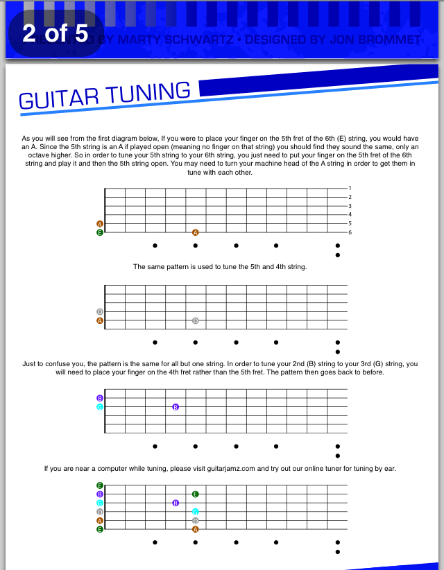 guitar jamz free ebook download